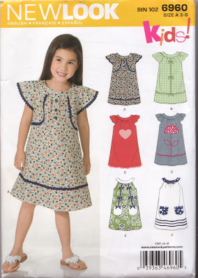 sewing pattern for girls dresses