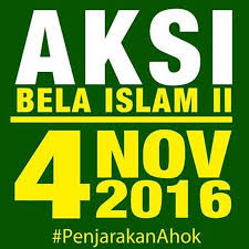 Aksi Bela Islam Demo 4 November, Murni Penegakan Hukum Islam