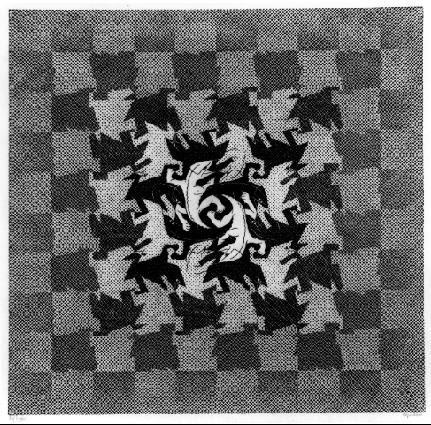 Desenvolvimento l - Escher, M. C. e suas geniais litogravuras