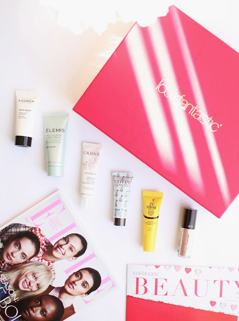 Look Fantastic, Beauty box, LFBEAUTYBOX, Skincare, Make up, Elemis, Caudalie