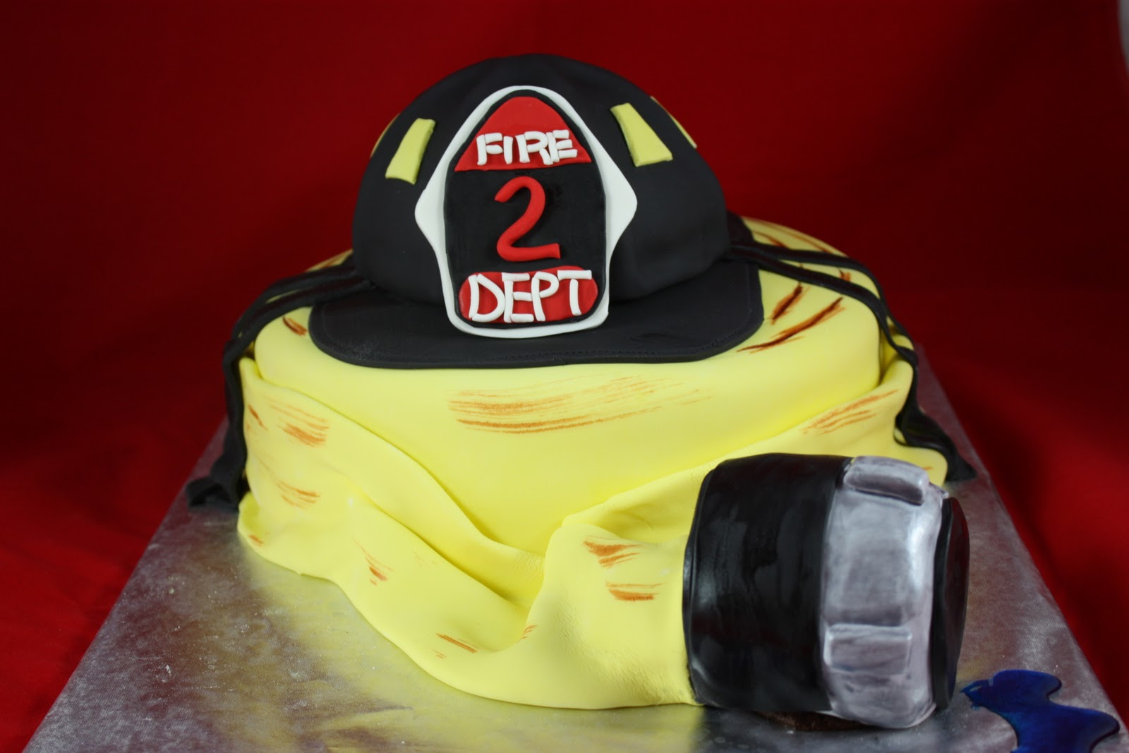 Sweet On You Designer Cups Amp Cakes Fireman Cake