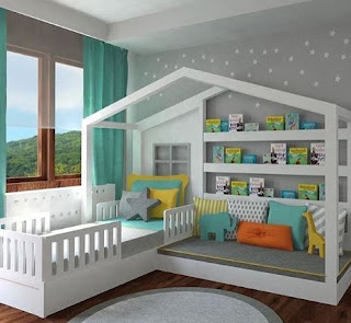 Kids Bedroom Tricks To Build Children's Comfort