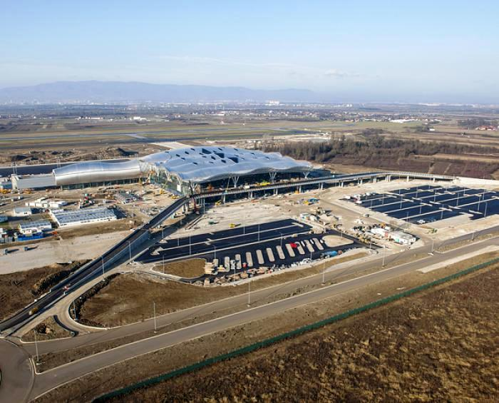 Center Photos Zagreb Airport Terminal Nears Completion Center