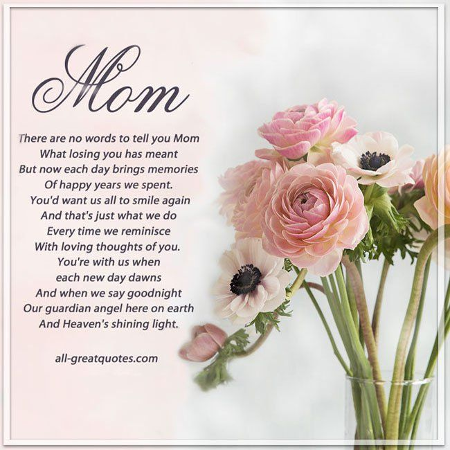 240 Happy Birthday Mom In Heaven 2020 Poems Quotes Status Messages For Mother Happy Birthday 2020