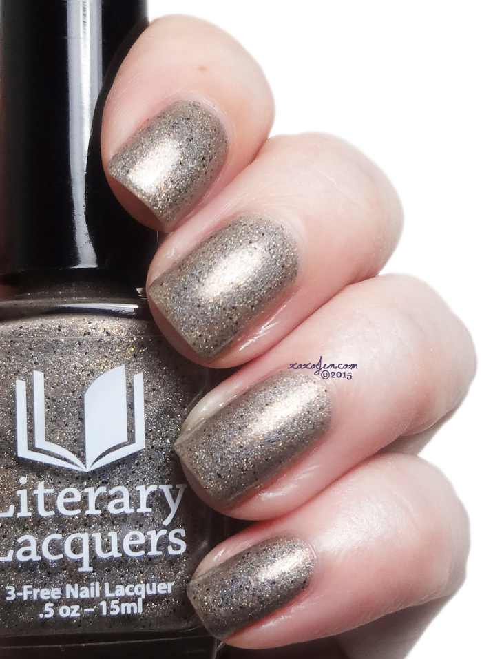 xoxoJen's swatch of Literary Lacquers A Sensible Rabbit