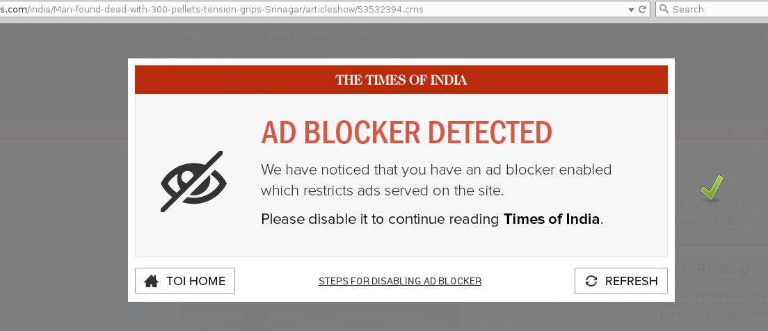 Anti Adblock Killer How To Disable Quot Ad Blocker Detected