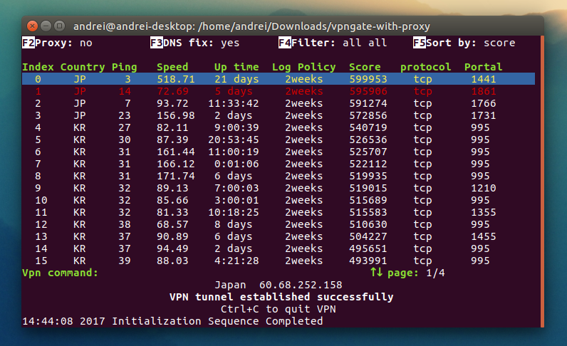 Easily Use Free VPNs From VPN Gate In Linux With These 2 Tools ~ Web Upd8: Ubuntu / Linux blog