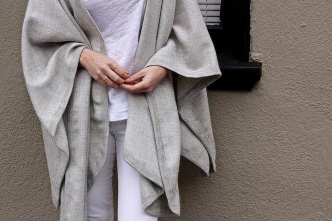 Current Habits, Cuyana, cape, fashion, SF, SF Blogger, San Francisco