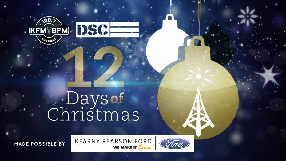 dscs 12 days of christmas