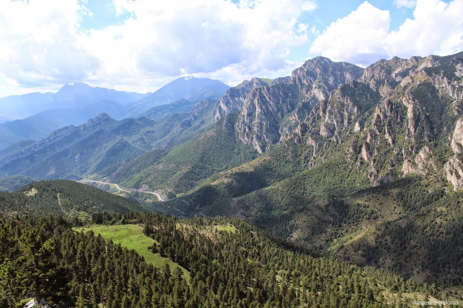 Mirador dels Orris Parc natural del Cadí-Moixeró Bagà Alt Berguedà Pedraforca