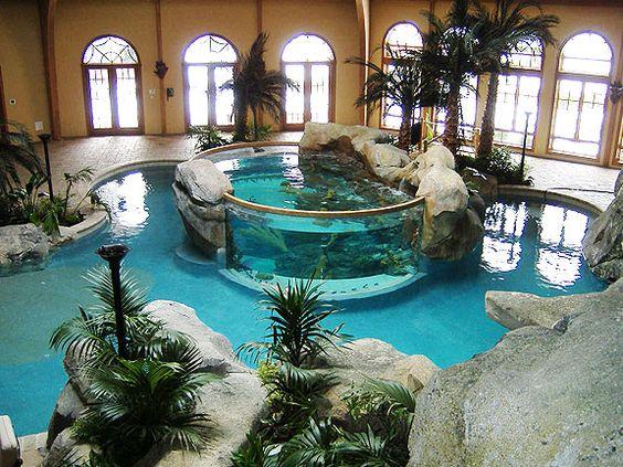 Las mansiones y casas con las piscinas mas increibles del for Las casas mas hermosas del mundo