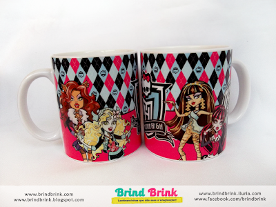 lembrancinha personalizada monster high