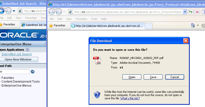 Ie11 Pdf Instead Of Open