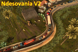 Free Download Mod Ndesovania V2 for Euro Truck Simulator 2 (ETS2) Games