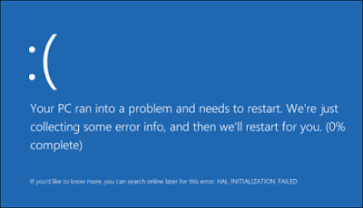 Fixing Blue Screen of Death BSOD in Windows 10