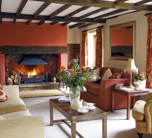 interiores con techos de madera by