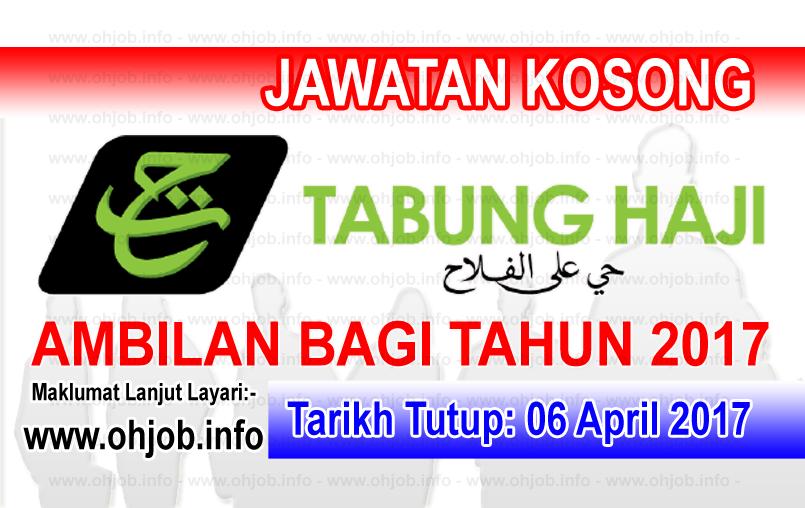 Jawatan Kerja Kosong TH - Lembaga Tabung Haji logo www.ohjob.info april 2017