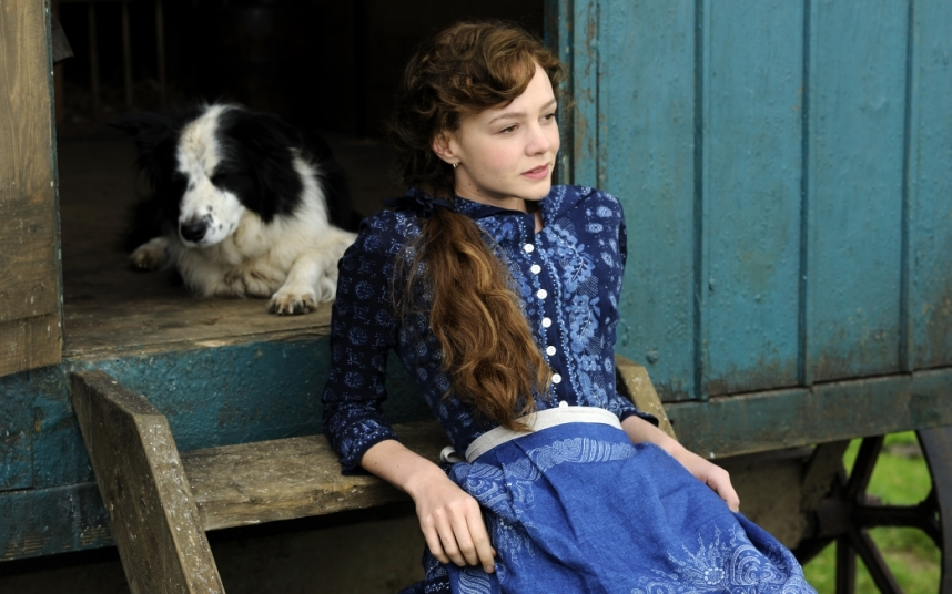 Far From The Madding Crowd, in which Mulligan stars as Thonas Hardy's proud young heroine Bathsheba Everdene. The film is released on May 1.