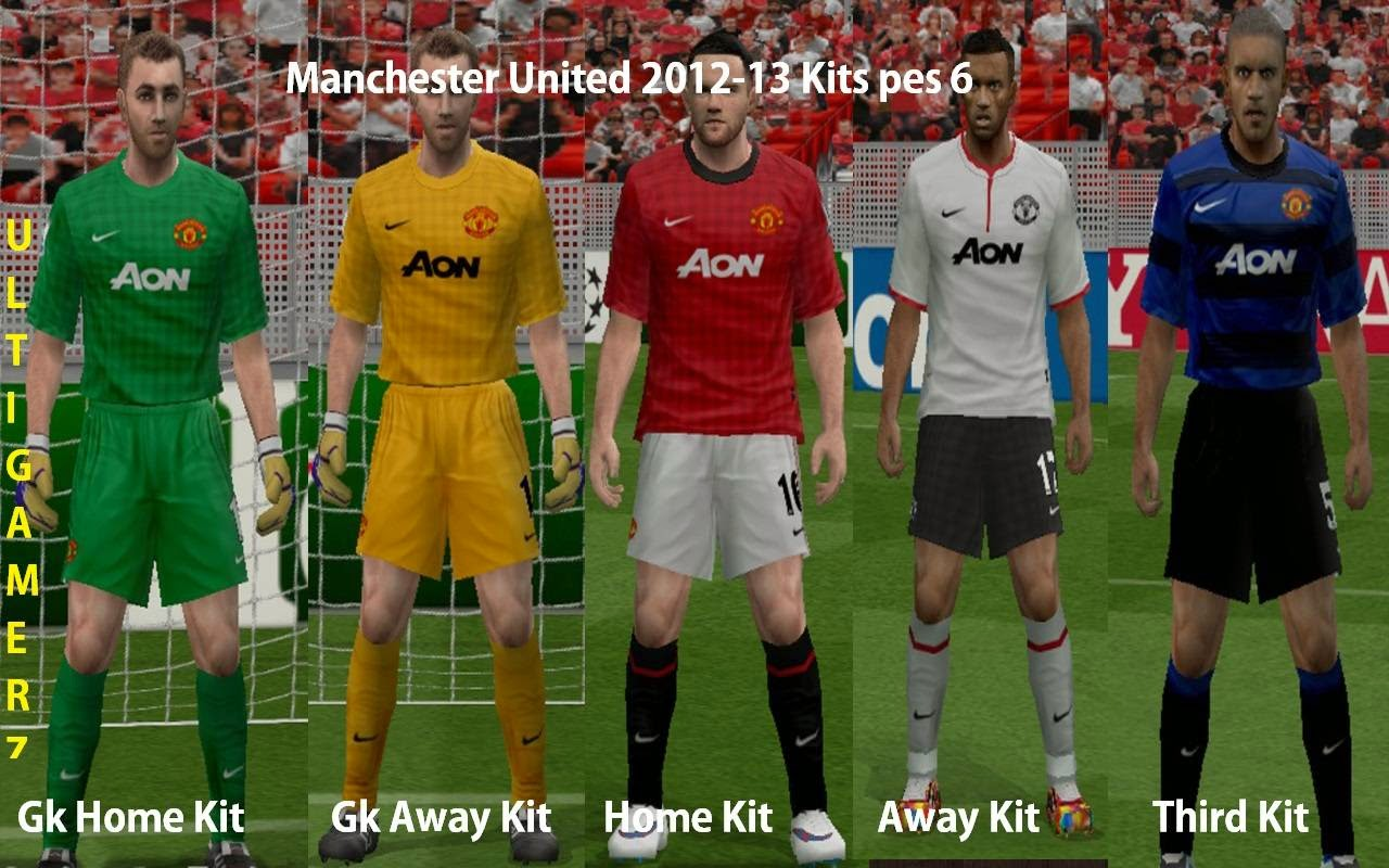 29b48be449c204 Manchester United Home Kit - PES 2017 Tutorial - YouTube