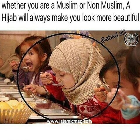 hijab girl kid