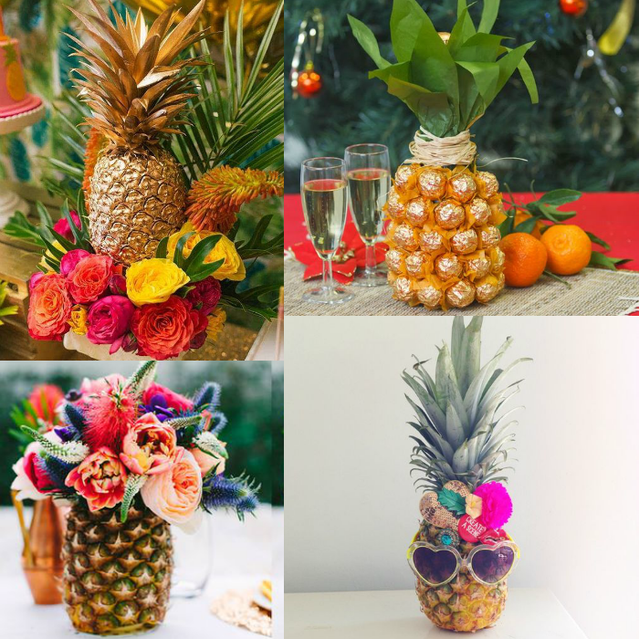 festa tropical, abacaxi dourado, festa abacaxi