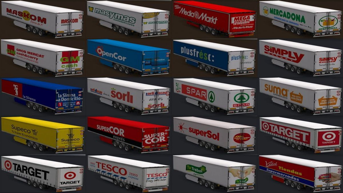 Trailers Large Surface Pack