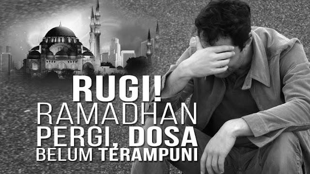 Tiada Terasa, Ramadhan Sebentar Lagi Pergi