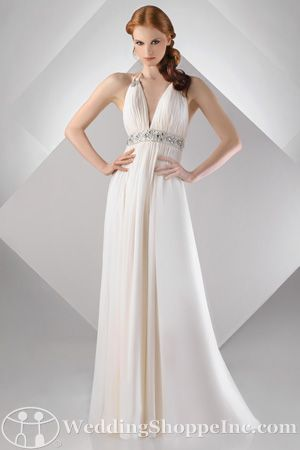 Glamorous Grecian Look Bridal Gowns Trends Goddess | ideas of ...