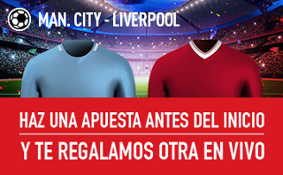 sportium promocion 10 euros City vs Liverpool 9 septiembre
