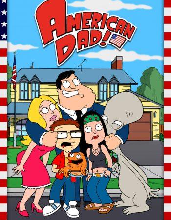 American Dad Season 1-17 COMPLETE 480p – 720p WEB-DL