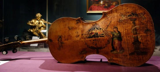 King cello by Andrea Amati  -- made in 1500s