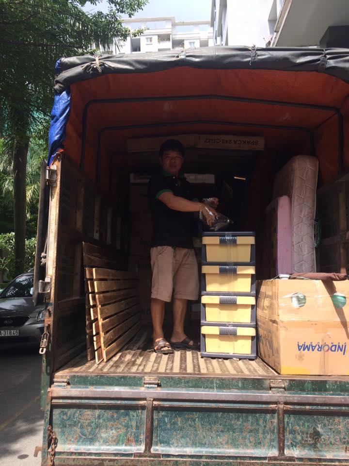 Xe tải chuyển nhà Thái Phong