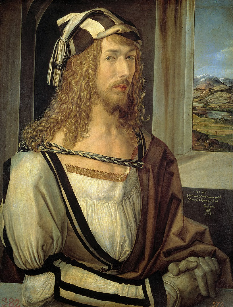 Alberto Durero, Autorretrato (1498), Museo del Prado, Madrid