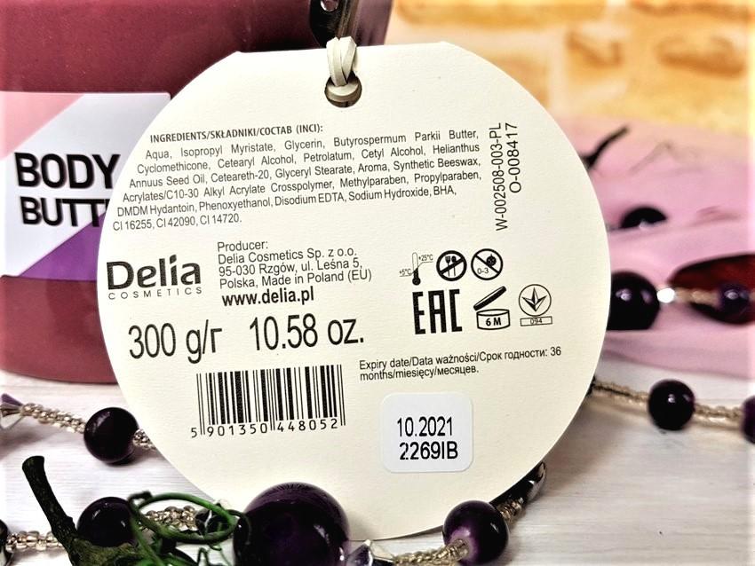 Masło do ciała  Dairy Fun Blueberry Delia