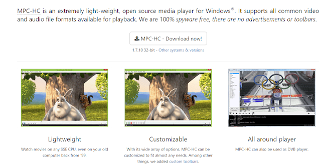 Media player classic is the most classic and best free media player ever made