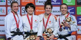 JUDO - Estrella López y Nikoloz Sherazadishvili se hacen de bronce en el Grand Slam de Dusseldorf