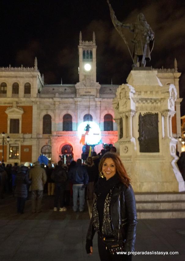 Ayuntamiento de valladolid iluminado