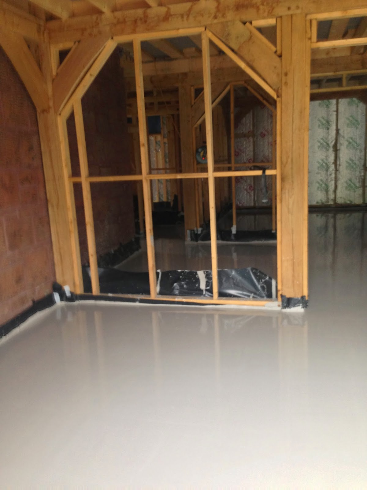 Liquid Screed for Under Floor Heating