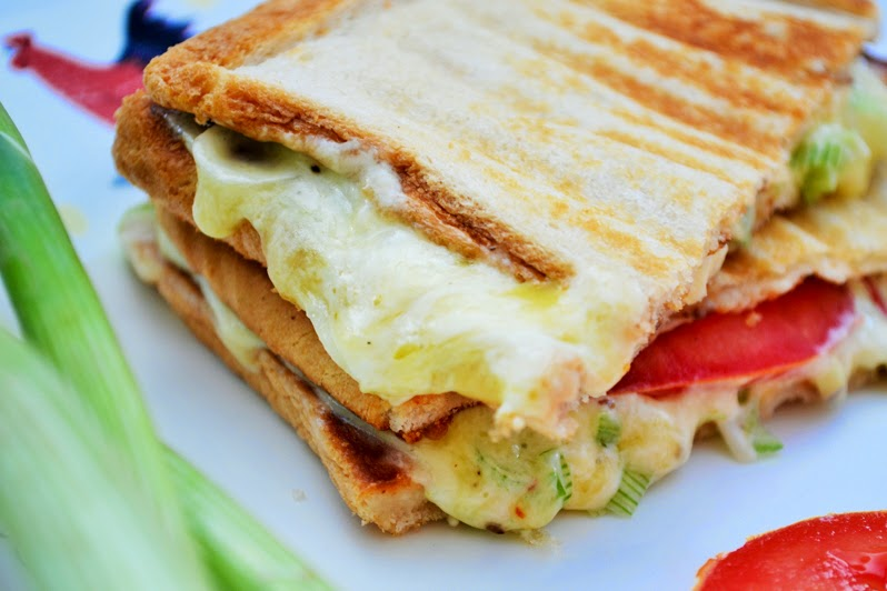 Phili Scallion Toastie