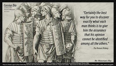 Resultado de imagem para Historian Cassius Dio