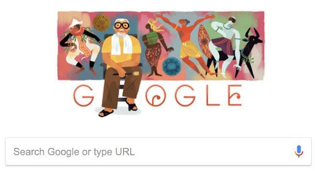 BAGONG KUSSUDIARDJA Jadi Google Doodle Hari Ini