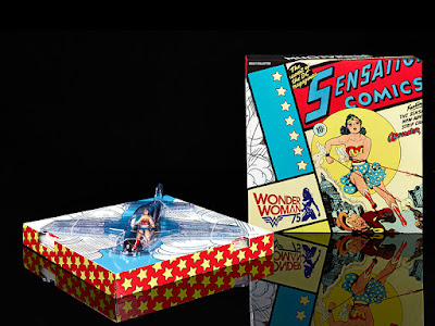 San Diego Comic-Con 2016 Exclusive DC Comics Multiverse Wonder Woman Action Figure with Invisible Jet by Mattel