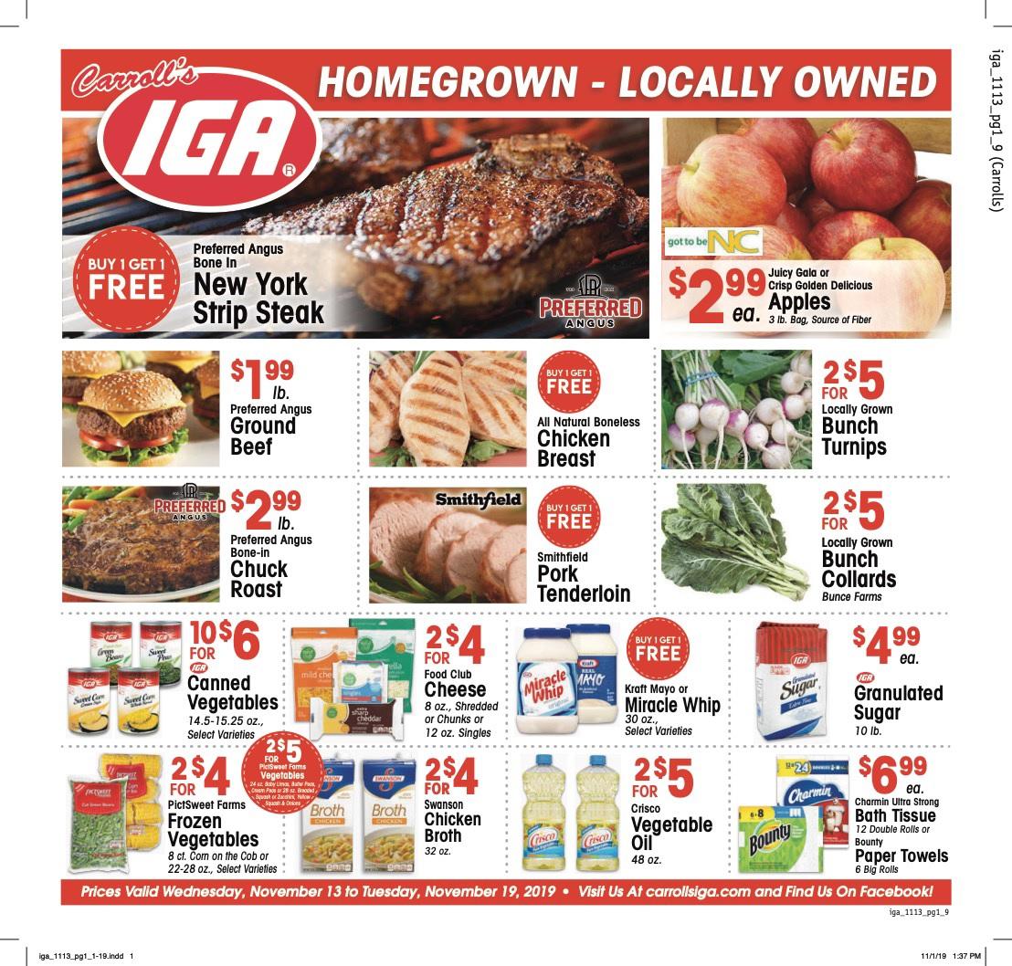 IGA Weekly Ad
