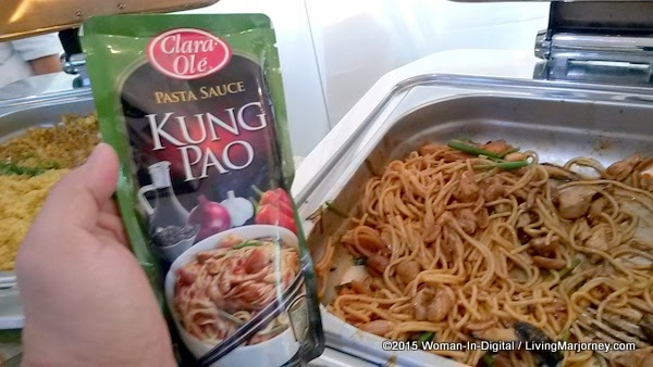 Pasta Made with Clara Ole Paste Sauce Kung Pao