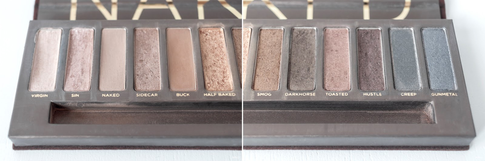 lavlilacs 2018 Project Make a Dent - half year - Urban Decay Naked Palette
