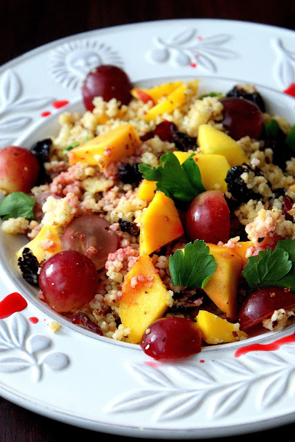 kasza jaglana, zdrowy posiłek z kaszy jaglanej, kasza z owocami,katarzyna franiszyn luciano,z kuchni do kuchni