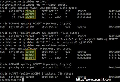 10 Perintah Iptables Untuk sysadmin di Linux, Iptables, sysadmin, linux, furewall