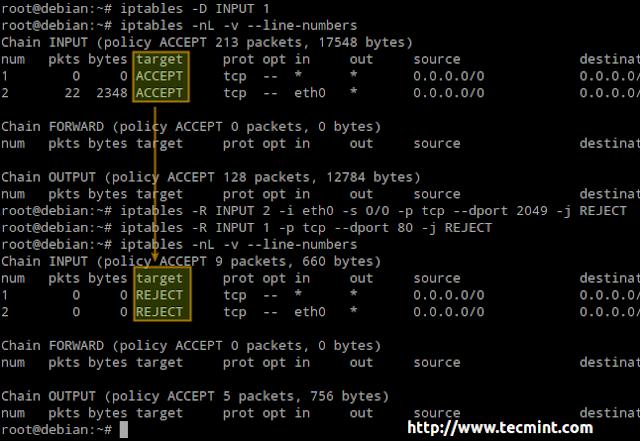 10 Script Perintah Iptables Untuk sysadmin Baru di Linux