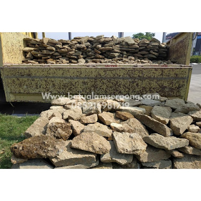 Pengiriman batu serai bali