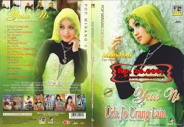 Yossi NS - Uda Jo Urang Lain (Album Pop Minang Exclusive)